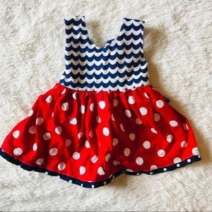 Other - Boutique Red, White, & Blue Dress